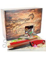 Angel Berger Raubfisch Geschenk Box