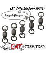 Mikado Cat Territory Cat Ball Bearing Swivel Welswirbel Wallerwirbel