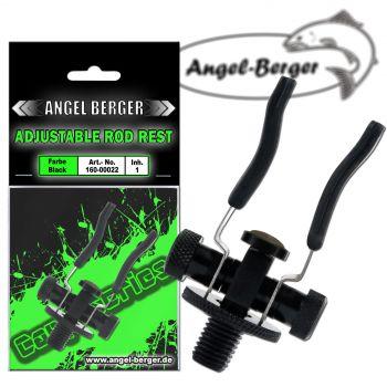 Angel Berger Black Adjustable Rod Rest