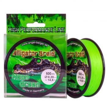 Alligator Braid Neon Green 500m