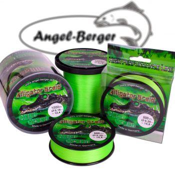 Alligator Braid Neon Green 1000m