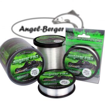 Angel Berger Alligator Flex Ghost 1000m Angelschnur Monofile Schnur