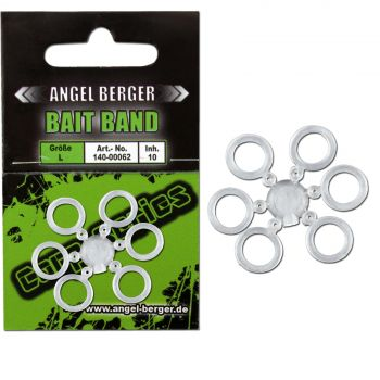 Angel Berger Bait Band L Pellet Band Köderhlater Ködergummi Feeder Angeln