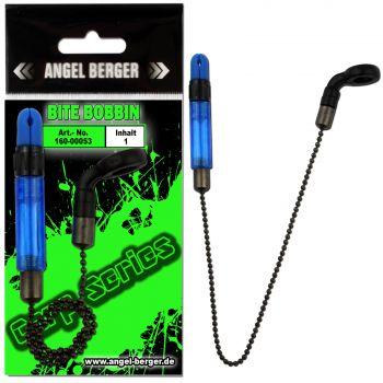 Angel Berger Carp Series Bite Bobbin Indicator Blau Bissanzeiger