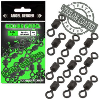 Angel Berger Carp Series Rolling Swivel Wirbel
