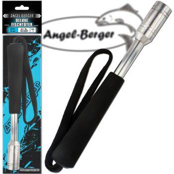 Angel Berger Deluxe Aluminium Fischtöter mit Handschlaufe Fischbetäuber Totschläger