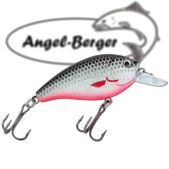 Angel Berger Fat Crank 3D Wobbler Minnow Weissfisch Raubfischköder