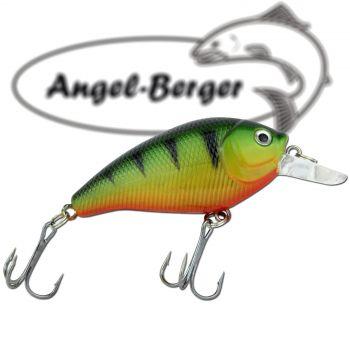 Angel Berger Fat Crank 3D Wobbler Barsch Raubfischköder