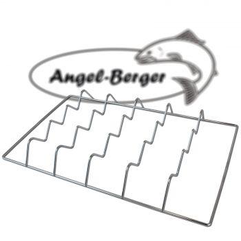 Angel Berger Räucherrost Fischkörbchen XXL 43 x 26cm