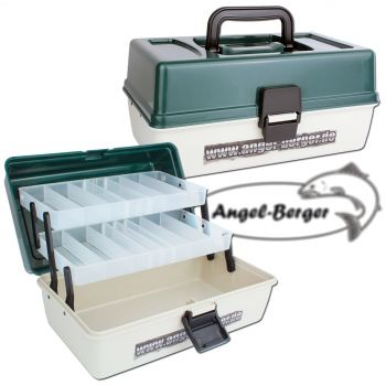 Angel Berger Angelkoffer 2 ladig