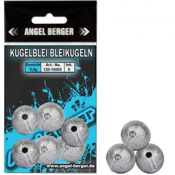 Angel Berger Kugelblei Bleikugel