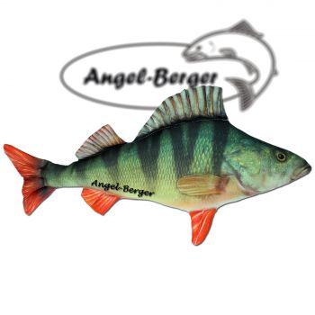 Angel Berger Kuscheltier Kissen Barsch