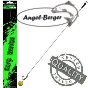 Angel Berger Carp Series Method Feeder Rig 8er Carp Rig