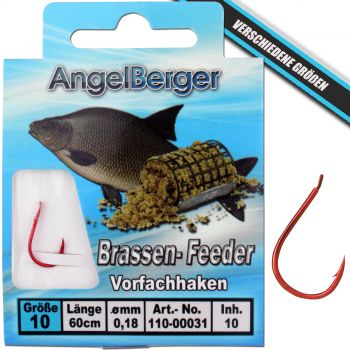 Angel Berger Vorfachhaken Brassen/Feeder