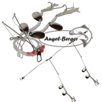 Angel Berger Brandungsvorfach Plattfisch/Dorsch mit Löffel