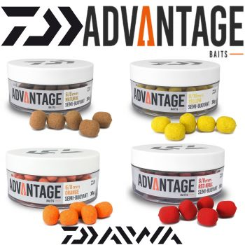 Daiwa Advantage Hookbaits Semi Buoyant Wafter Method Angelköder