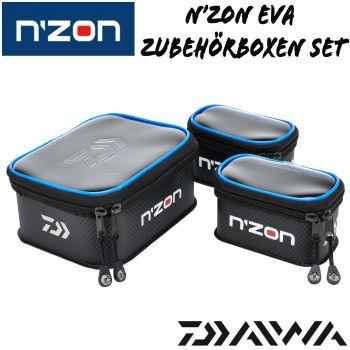 19x15x8cm Daiwa NZON Feeder Angeln EVA Köderbox Set