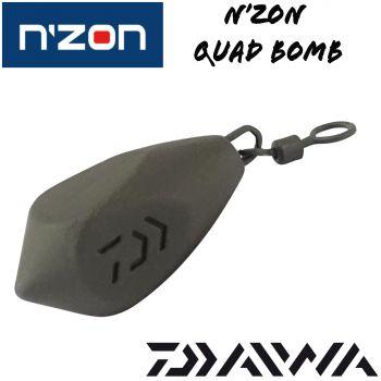 Daiwa N'ZON  Quad Bomb Feederblei Angelblei Karpfenblei 1 Stück