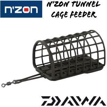 Daiwa N'ZON Tunnel Cage Feeder Futterkorb Feederkorb