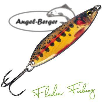 Fladen Realistic Flutter Blinker Golden Trout