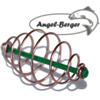 Angel Berger 10 Futterspiralen Futterkorb
