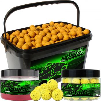 Angel Berger Session Set Boilies Pop Ups Dip Mais