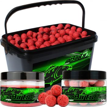 Angel Berger Session Set Boilies Pop Ups Dip Monster Crab