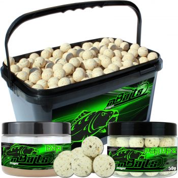 Angel Berger Session Set Boilies Pop Ups Dip Vanille