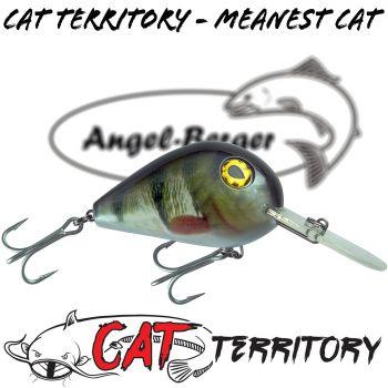 Mikado Cat Territory Meanest Wobbler Welsköder Crank Minnow