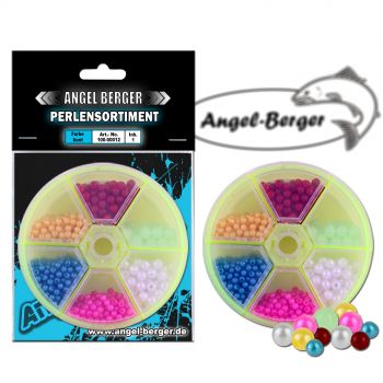 Angel Berger Perlensortiment in Drehdose