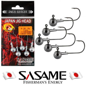 Wild Devil Baits Japan Jig Head 5 Stück Jighaken Jigkopf