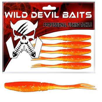 Wild Devil Baits Snake Shad Red Devil Powerpack