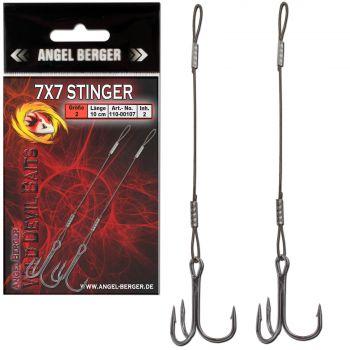 Wild Devil Baits Stinger 7x7 Angstdrilling Assithook