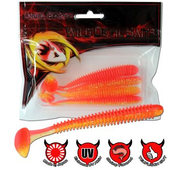 Wild Devil Baits Wave Shad Red Devil Powerpack