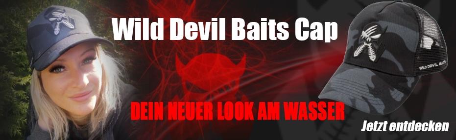 Die neuen Wild Devil Baits Caps jetzt erhältlich.