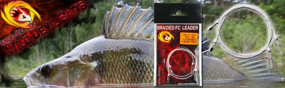 Wild Devil Baits Braided FC Leader